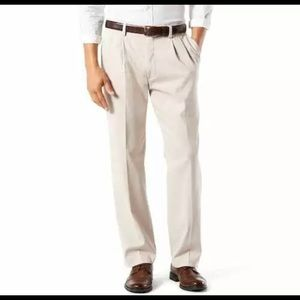 Dockers Easy Khaki Pants Classic Fit Cloud 42Wx32L